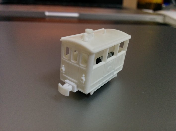 Henschel Tramway (6.5mm gauge) 3d printed Cleaned and assembled