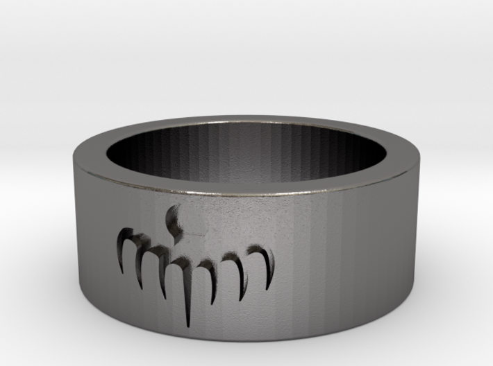 SPECTRE ring - mens size 9.75 3d printed