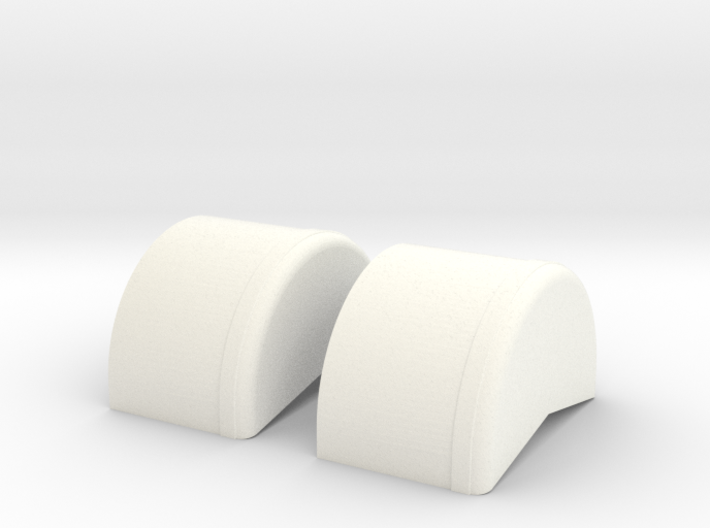 1/43 40 Inch Wheel Tubs 3d printed