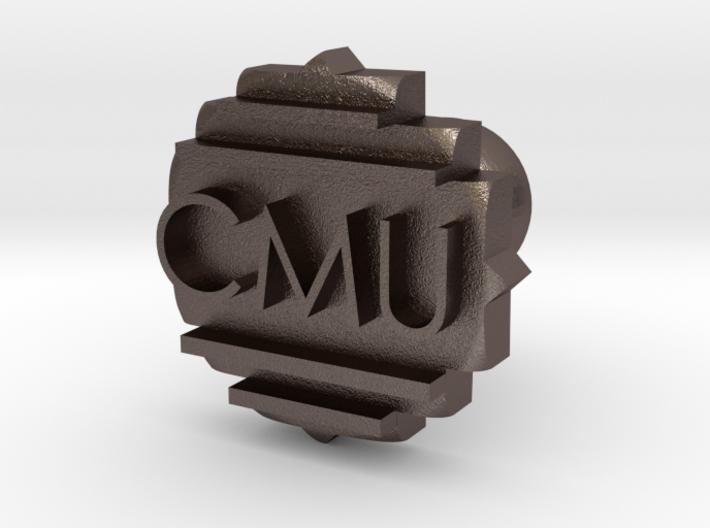 CMU Cufflink 3d printed
