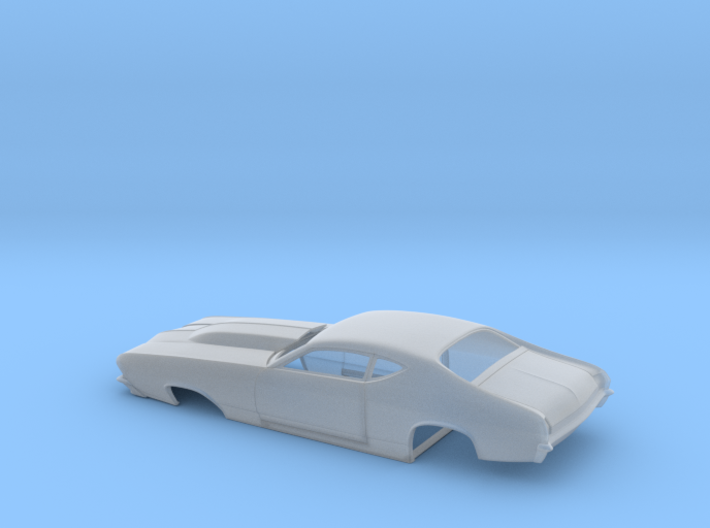 1/64 69 Chevell Pro Mod One Piece Body 3d printed