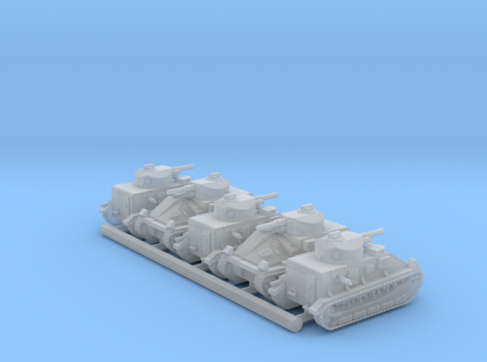 Vickers Medium Mk.II (6mm, 5-up) 3d printed