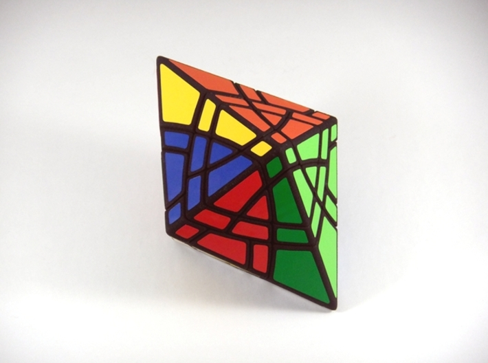 Curvy-10 Master Edition Puzzle 3d printed Initial 180 Degree Turn