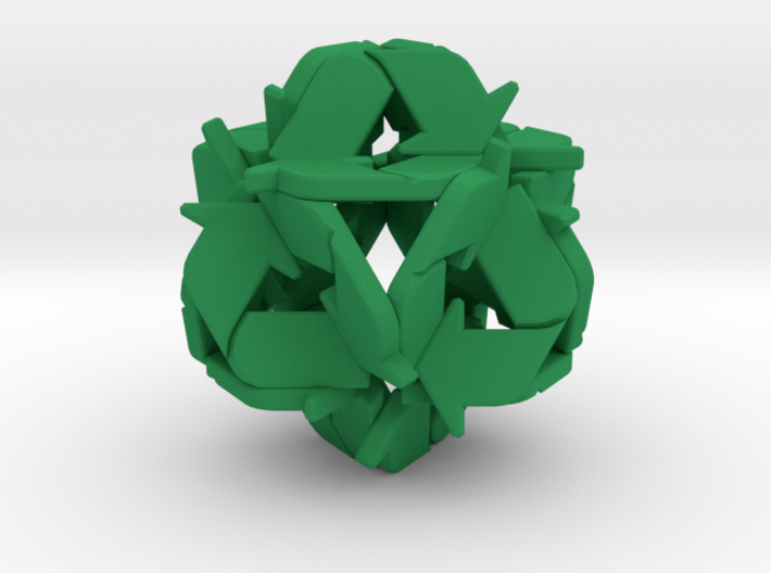 Recycling Sculpture (41mm) 3d printed