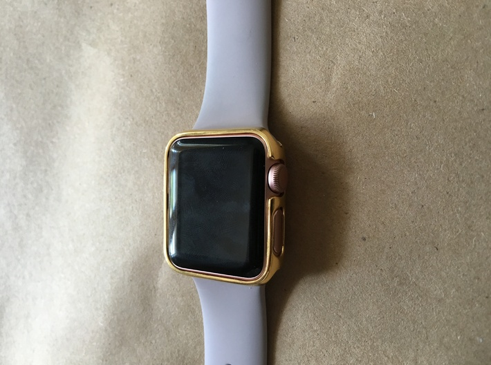 38mm Apple Watch Crown With Apple Approval 2 Thin 3d printed