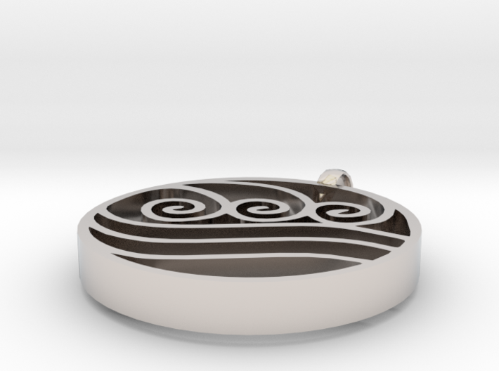 Water Tribe Symbol Avatar 3d printed
