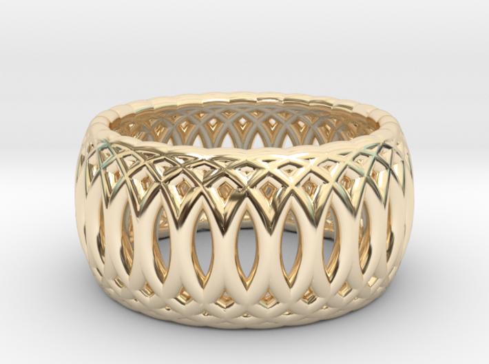 Ring of Rings - 17.1mm Diam 3d printed