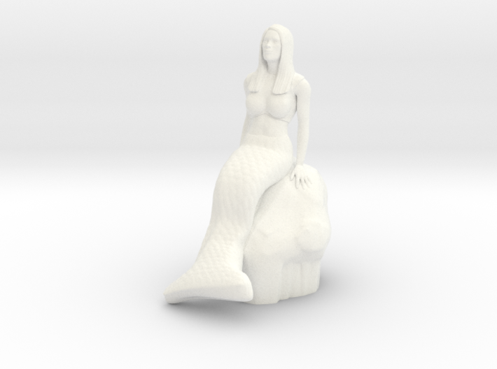 Mermaid 3d printed