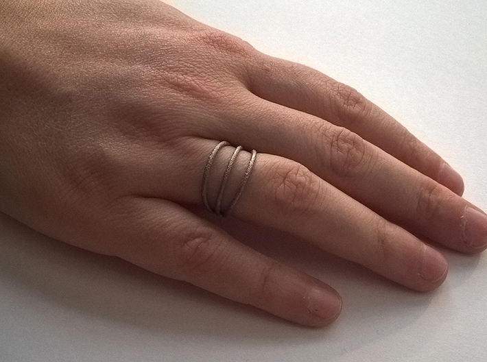 Ring ring small - size 54 3d printed