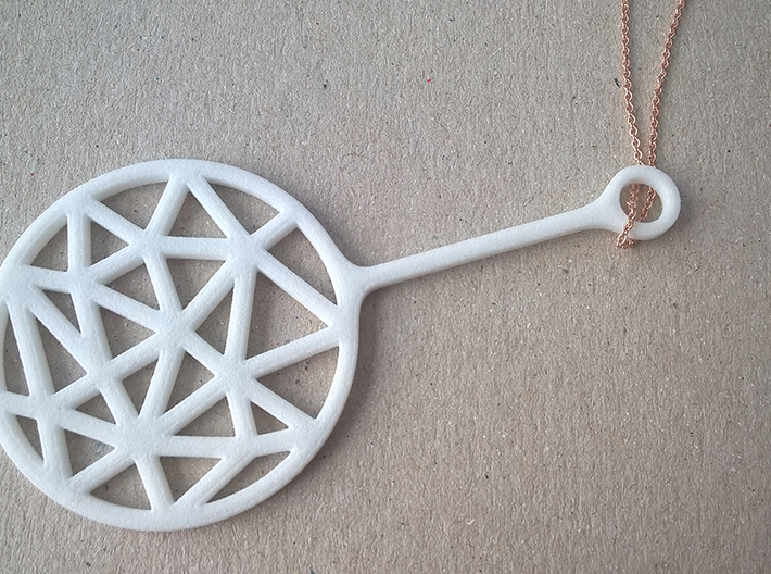 Bubble Break - Necklace - C 3d printed