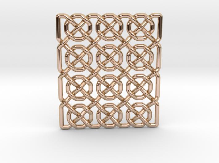 0514 Celtic Knotting - Ibain Grid [p49] 3d printed