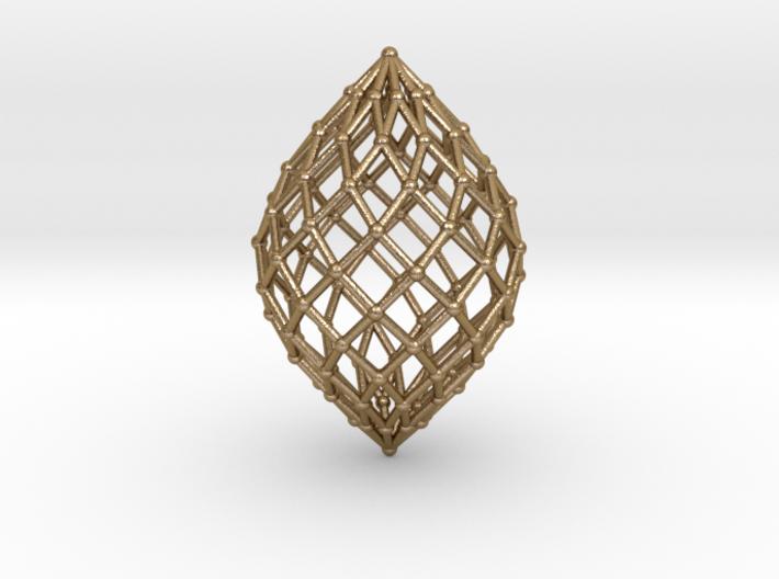 0516 Polar Zonohedron V&E [11] #002 3d printed