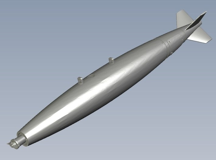 1/18 scale General Dynamics 500 lb Mk 82 bomb x 1 3d printed