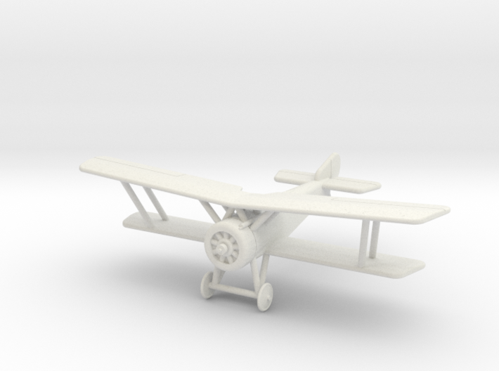 GWA08 Hanriot HD1 (1/144) 3d printed