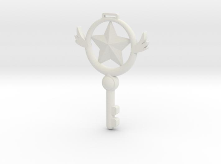 Sakura Key 3d printed