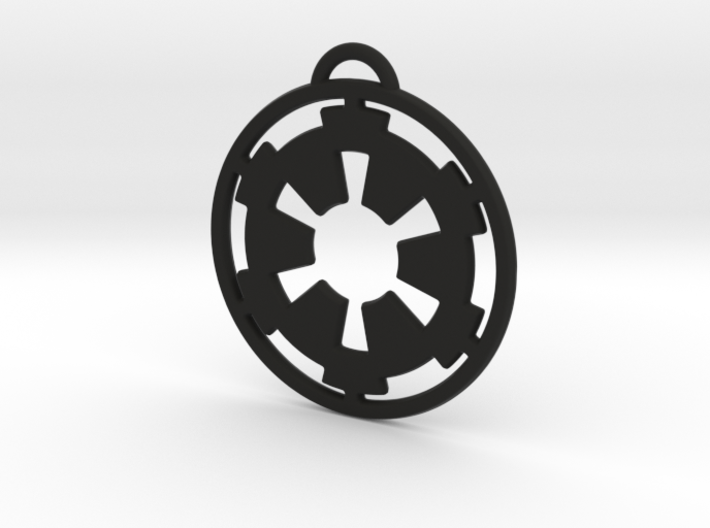 Imperial keychain 3d printed