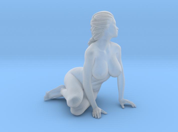2016014-Ponytail girl 1:24 3d printed