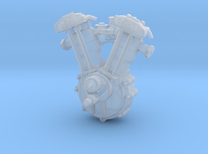 Morgan Engine (fits Minicraft 1/16 kit) 3d printed