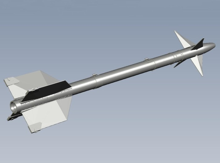 1/18 scale Raytheon AIM-9L Sidewinder missiles x 2 3d printed