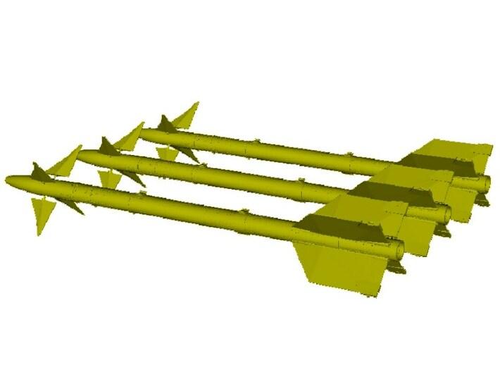 1/18 scale Raytheon AIM-9L Sidewinder missiles x 3 3d printed