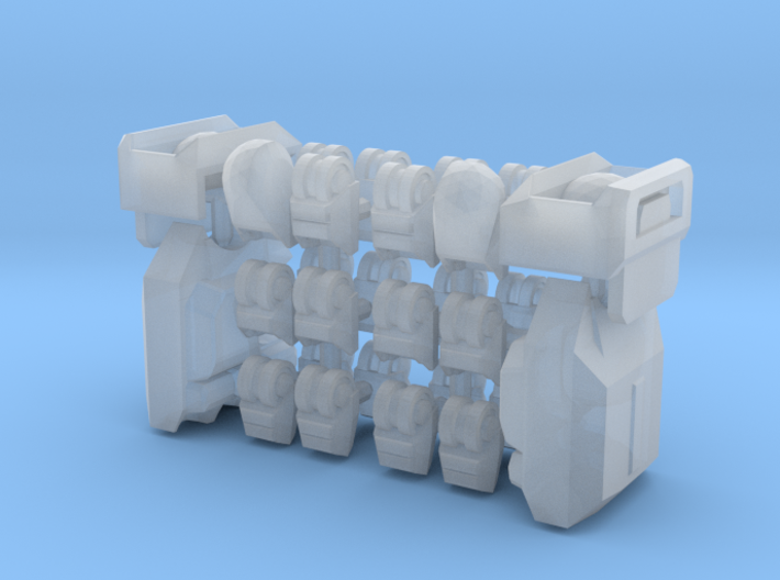 Ripwave Mecha Suit – Poseable Hands 3d printed