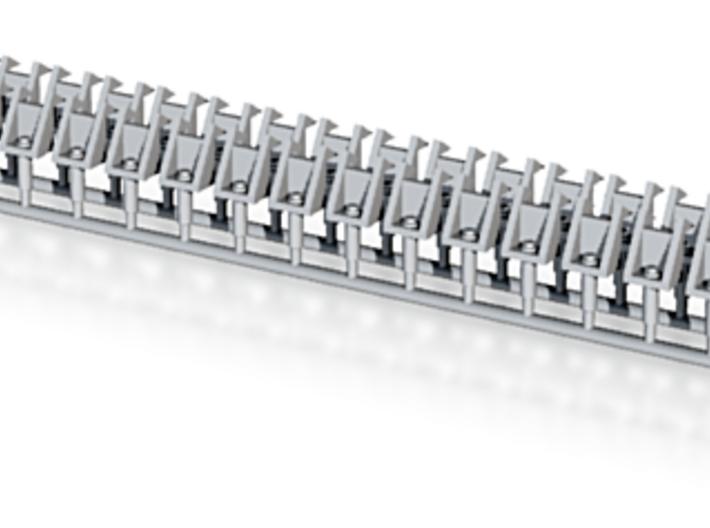 Track Holders for long mine rails on S-Boat (new v 3d printed