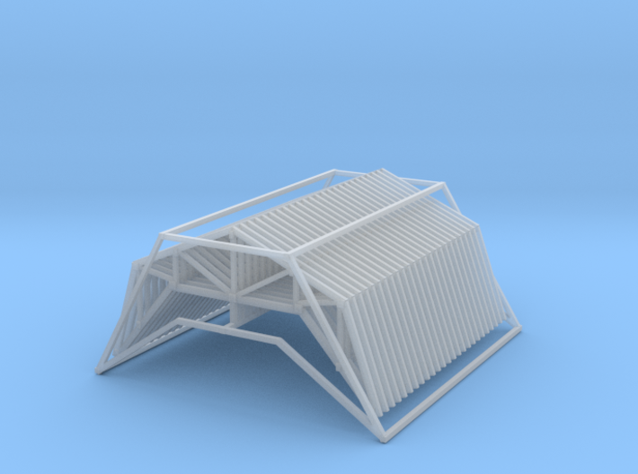 Trusses 24ft X 12ft Z Scale 3d printed 25 trusses 24ft x 12ft z scale