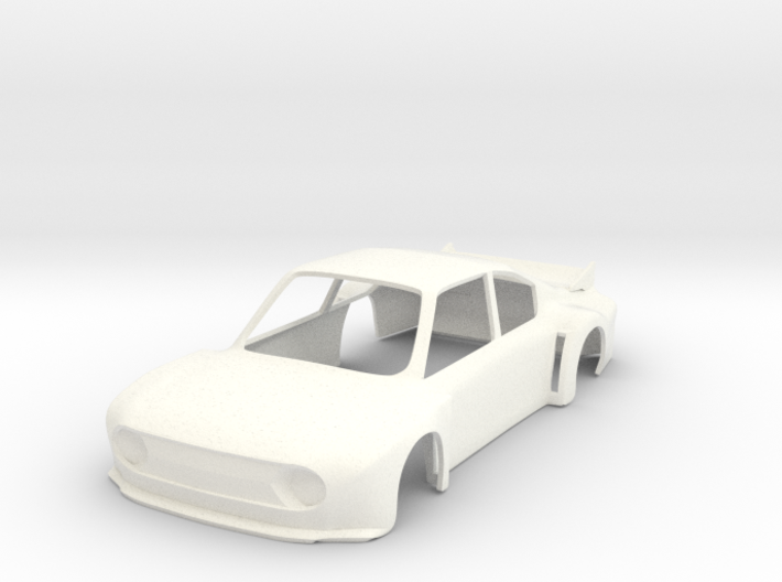 Skoda 130RS Super Saloon race car slot body - 1:32 3d printed