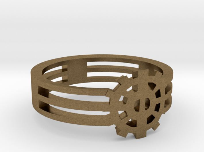 [The 100] Heda Forehead Piece Ring (US Size 5.5) 3d printed