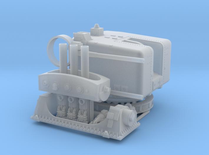 HMAS Swan 1-72 4.5 And Limbo For FUD 3d printed