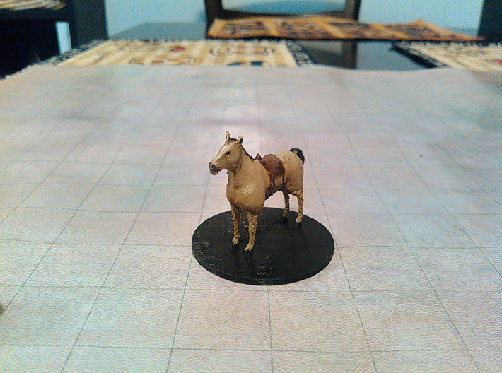 Draft Horse 3d printed