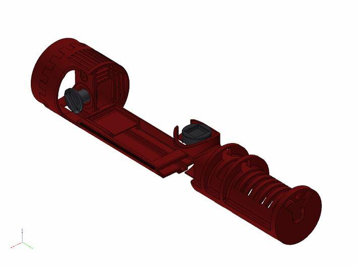 KR Qui-Gon Jinn - NB3 chassis kit 3d printed