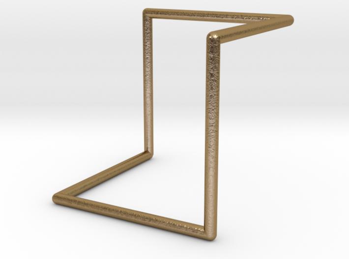 Single Loop Pendant 3d printed