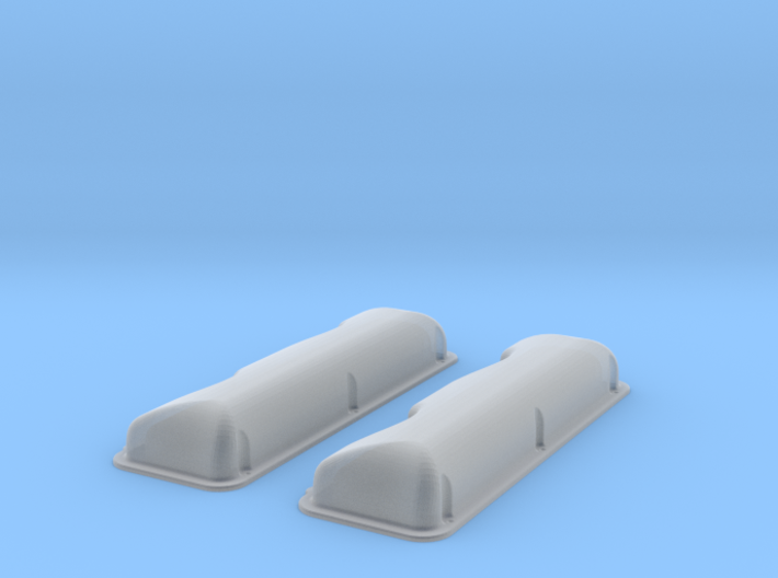 1/18 409 Smooth Valve Covers File 3d printed