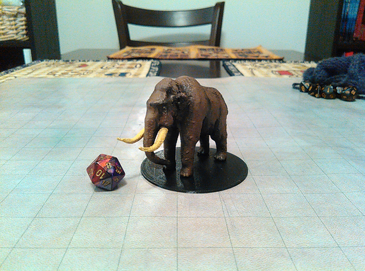 Mammoth 3d printed