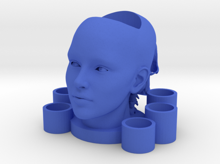 2 Heads Multi-candle Holder 3d printed