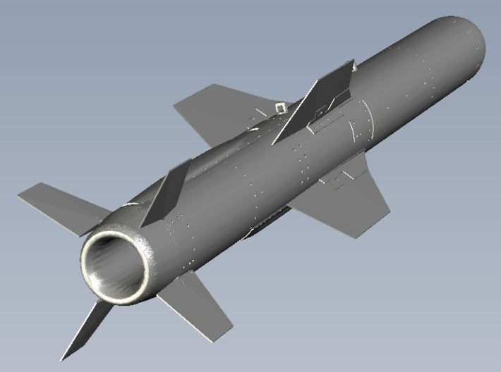 1/18 scale MDD AGM-84A Harpoon missile x 1 3d printed