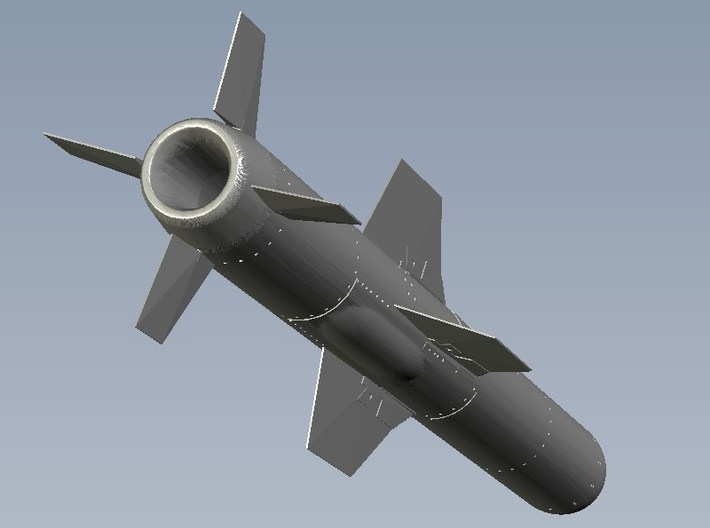 1/18 scale MDD AGM-84A Harpoon missiles x 2 3d printed