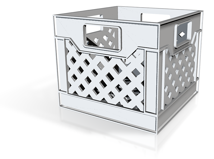 1/10 Scale Milk Crate 3d printed
