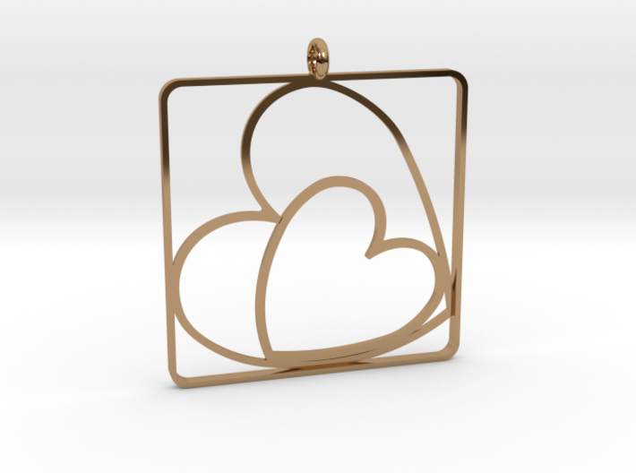 TOGETHER PENDANT 3d printed
