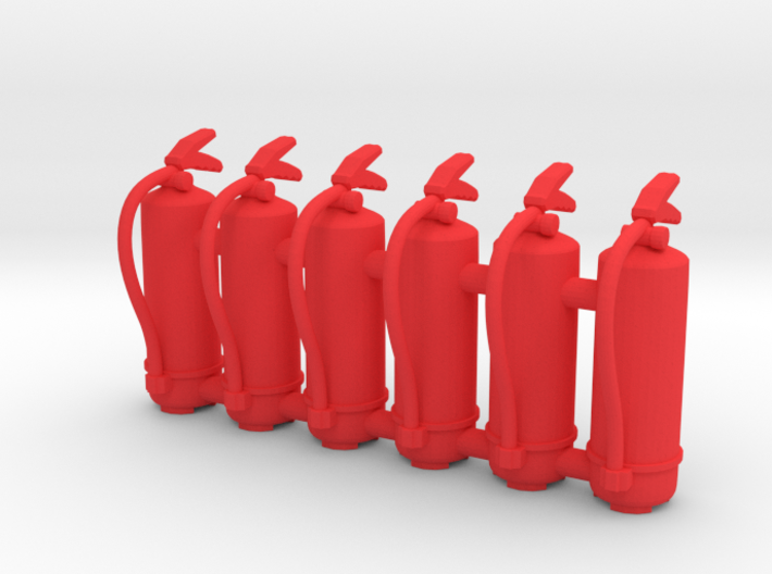 Fire Extinguisher 01. 1:24 scale 3d printed