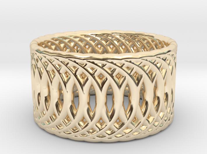 Ring of Rings V2 - 18.5mm Diam 3d printed