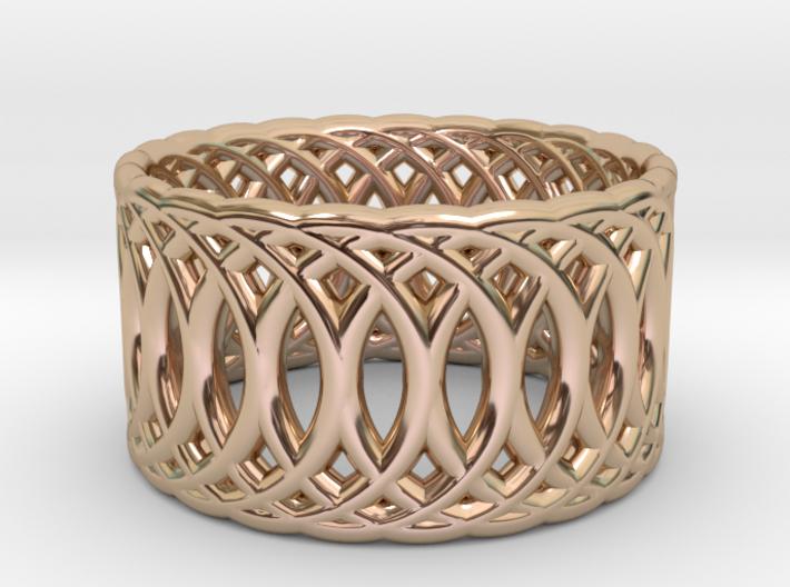 Ring of Rings V3 - 18.5mm Diam 3d printed