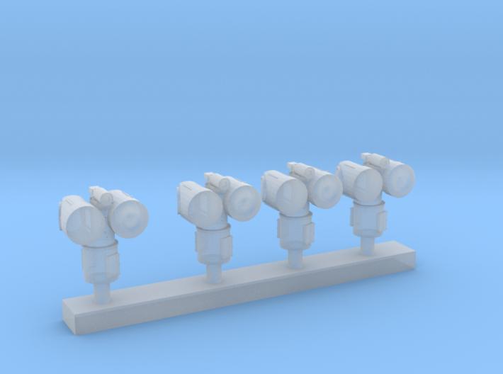 1:350 Scale Mk 95 NSSM Director (4x) 3d printed