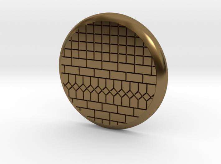 28mm Base - Tiled floor 3d printed