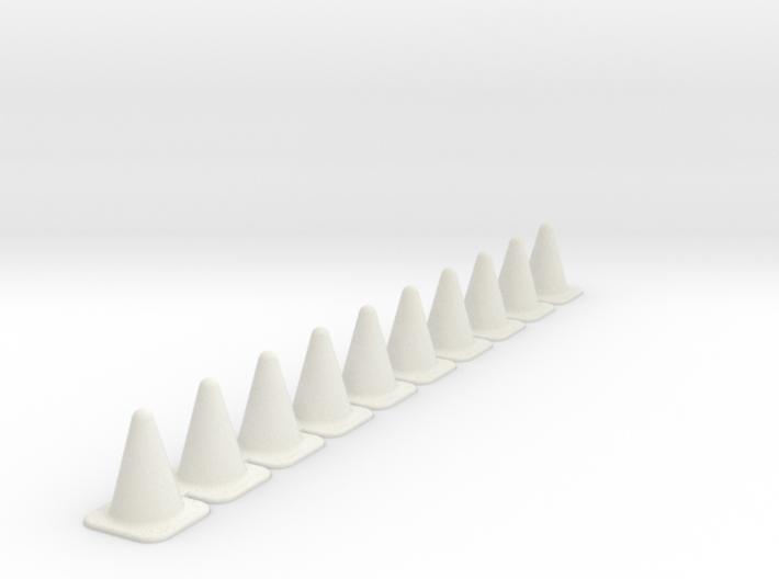 Pylons 3d printed