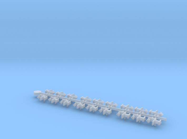 Rapido 1.5mm, 2mm & 2.5mm Close Coupling Samples 3d printed