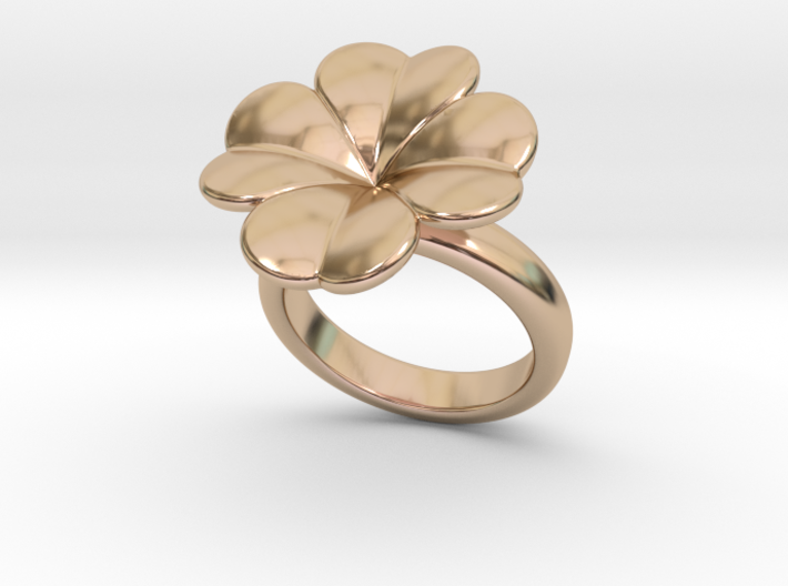 Lucky Ring 16 - Italian Size 16 3d printed