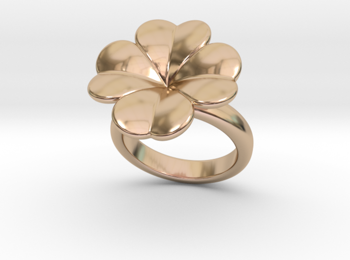 Lucky Ring 19 - Italian Size 19 3d printed
