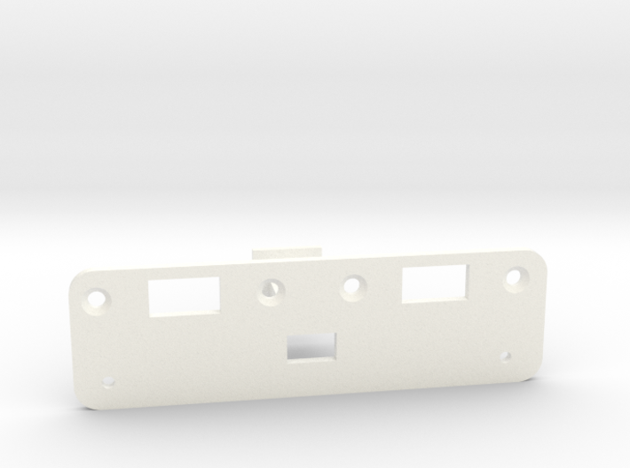 Rollers to Switch Conversion Bracket - Jazzmaster 3d printed